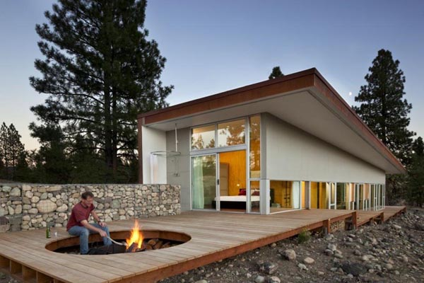 Modern Outdoor Firepit Inspiration Honeyle Life