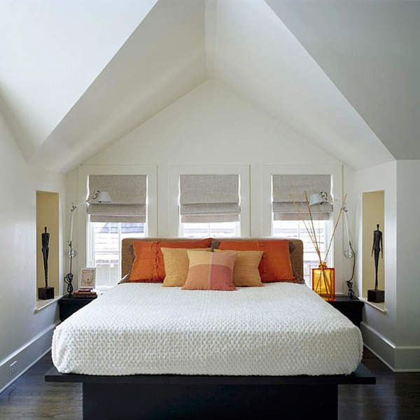 great attic room ideas - Bedrooms on Pinterest
